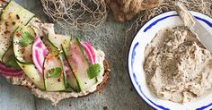 This smoked mackerel pâté is really easy to make but packs in a lot of flavour. Served with cucumber and pickled beetroot make it a bit more special