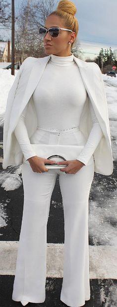 WINTER WHITE / Fashion ByMabel Disla