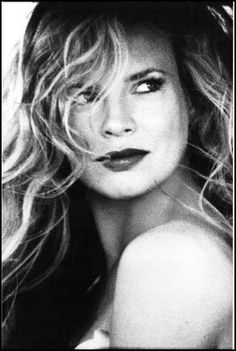 Kim Basinger. My parents have always said I look like her. YEAH, OKAY MOM AND DAD