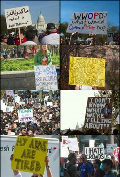 Epic Collection of Protest Signs - #Protest