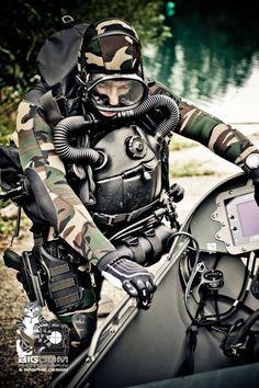 Combat diver and STIDD DPD