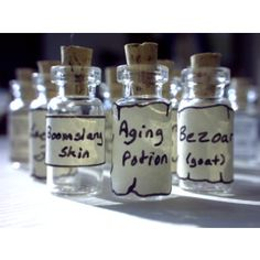 crafty lil' thing: Our Lil Potion Bottles