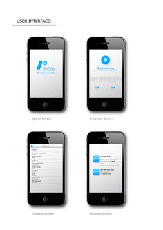 RunTunes (iPhone and iPodTouch application) by Gergely Bogányi, via Behance Splash Screen, How To Start Running, User Interface, Ipod Touch, Behance, Iphone, My Style