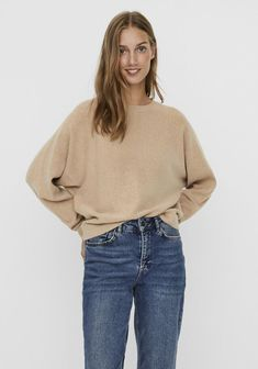 Neutral Tones, Jumper, Beige, Trends, Knitting, Jeans, Fashion, Taupe, Sweater