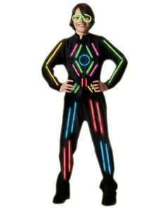 Little Lightsuits Adult Costume #ElectricRun