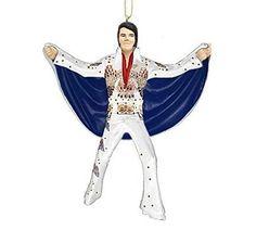 Kurt Adler Elvis Presley Flying Cape Eagle Jumpsuit Christmas Ornament - White Kurt Adler http://www.amazon.com/dp/B0124NEAXI/ref=cm_sw_r_pi_dp_q.2Rvb08JFMCR