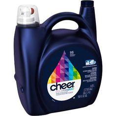 Google Express - Cheer HE Liquid Laundry Detergent 150 oz 96 loads