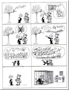 Quino - Potentes, prepotentes e impotentes (Powerful, Arrogant and Impotent, Smart Humor, Sketch Manga, Pure Fun, Humor Grafico, Fun Comics, Comic Strips, Vignettes, Best Funny Pictures, Vintage World Maps