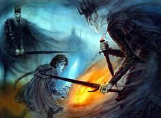 against the shadow (by john howe)