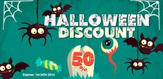 Halloween 50% OFF on all 3D Models!