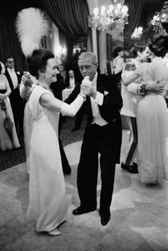 Wallis Simpson and Edward, Duke and Duchess of Windsor.