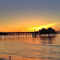 Malibu Pier at sunrise. #ABGetaway