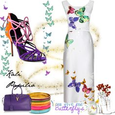 """""""Butterflies"""" by stardionne on Polyvore"""