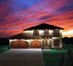 Prairie Style   House Plan 73143