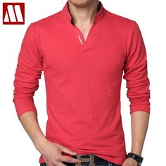 T Shirt Men Long Sleeve mens casual tshirt fitness hip hop new Tops slim fit cotton Tee t-shirt