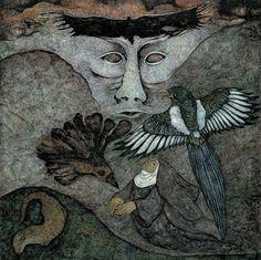 Meinrad Craighead Studio - Meinrad Craighead: Crow Mother and the Dog God, A Retrospective