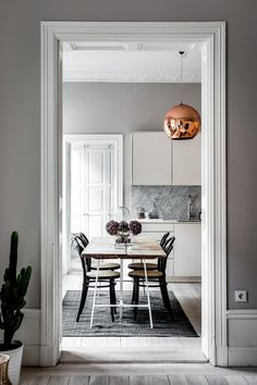 Scandinavian Apartment in Grey and Green - Gravity Home House Design, Gravity Home, Scandinavian Home, Decor, Interior Design, House Interior, Home, Apartment Design, Home Decor