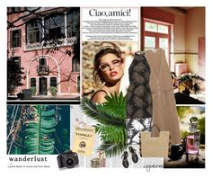 """""""Wanderlust"""" by cybelfee ❤ liked on Polyvore featuring Zara, John Lewis, Ancient Greek Sandals, Estée Lauder and Hipchik"""