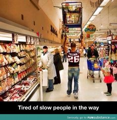 Tired of slow people in the way