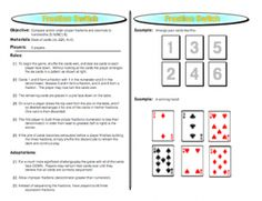 http://www.teacherspayteachers.com/Product/Fraction-Switch-Proper-Fractions-Games  Compare and/or order proper fractions and decimals to hundredths.