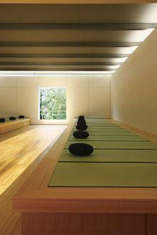 Choraku-ji Temple Zen Meditation Hall by Takenaka Corporation, Fukushima, Japan