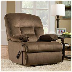 simmons champion tan rocker recliner at big lots living room pinterest recliners and tans. Black Bedroom Furniture Sets. Home Design Ideas