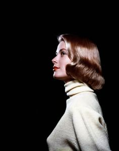 Grace Kelly Similar to her LIFE cover - a different pose from the same sitting.