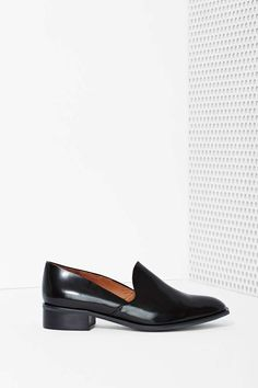 Jeffrey Campbell Chasen Leather Loafer | Shop Shoes at Nasty Gal