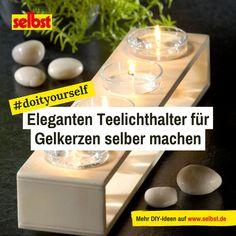TEELICHTHEIZUNG -TEELICHTOFEN 50 Teelichter Beton-schwarz-gold-glitzer NEU