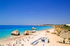 Portugal is packed with beautiful beaches from tourist hotspots near Lisbon to quiet havens in the Algarve - but there are a few that stand out from the crowd Pretty Beach, Beach Look, Destin Beach, Beach Trip, Best Beaches In Portugal, Places To Travel, Places To Visit, Portugal Holidays, Miramar Beach