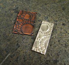 Cinnamon Jewellery: Embossing Metal With My Sizzix Bigshot