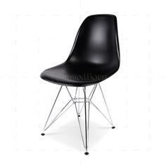 Eames Style Dining DSR Eiffel Chair Black - 32 £
