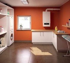Котельная в частном доме: требования, нормы, устройство | Строительный портал Kitchen Cabinets, Home Decor, Kitchen Cupboards, Homemade Home Decor, Decoration Home, Kitchen Shelves, Interior Decorating