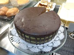RAW mint chocolate cheesecake