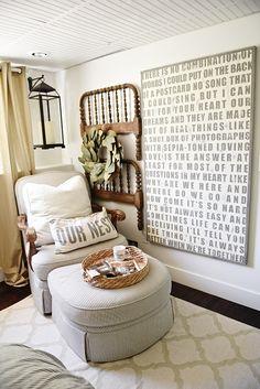 99 DIY Farmhouse Living Room Wall Decor and Design Ideas - Room Wall Decor, Living Room Decor, Dining Room, Bedroom Decor, Interior Exterior, Interior Design, Exterior Remodel, Shabby Chic, Farmhouse Wall Decor