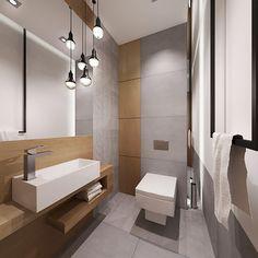 Small Basement Bathroom, Small Toilet Room, Bathroom Design Small, Bathroom Layout, Bathroom Interior Design, Modern Interior Design, Interior Design Living Room, Bathroom Ideas, Contemporary Bathrooms