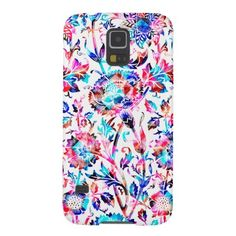 Cute colorful floral design Samsung galaxy S5 case - available - $34.95  ===> get it here http://www.zazzle.com/cute_colorful_floral_design_cases_for_galaxy_s5-179866222811830719?rf=238492824372051773&tc=pinterest