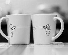 Cute DIY mug idea(oil based sharpie)-no instructions