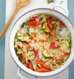 Gemüse-Nudel-Risotto Rezept - [ESSEN UND TRINKEN]
