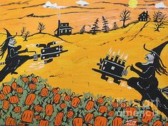 Witches Pumpkin Patch 500 by Jeffrey Koss
