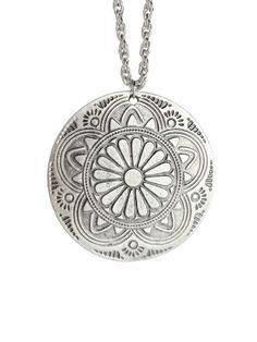 Ebony Sheild Necklace
