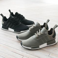 adidas NMD R1 Wool Charcoal Grey Limited Running Shoe Bw0616