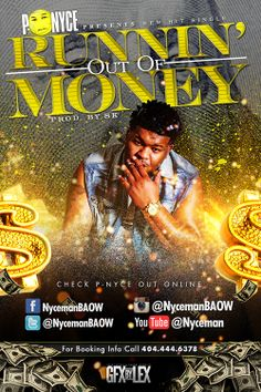 P-Nyce - Runnin Out of Money (Official Music Video) #newmusic