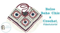 Bolso Boho Chic a Crochet, Vídeotutorial - YouTube