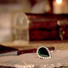 """Hurrem Sultan famous green lucky Ring"""""""