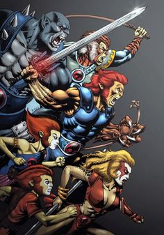 Thundercats by Yiannis Roumboulias and Henrique