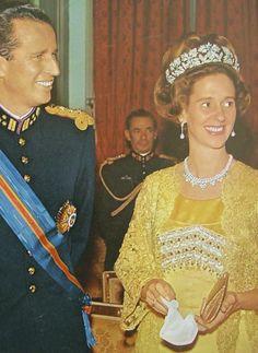 .King Baudouin I and Queen Fabiola of Belgium