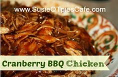 SusieQTpies Cafe: Crock Pot Cranberry BBQ Chicken