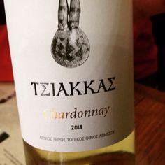 #TerroirCyprus #Tsiakkas #Winery #Chardonnay #Troodos Mountain