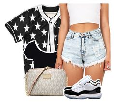 """""""Untitled #233"""" by uniquee-beauty ❤ liked on Polyvore featuring Michael Kors and Concord"""
